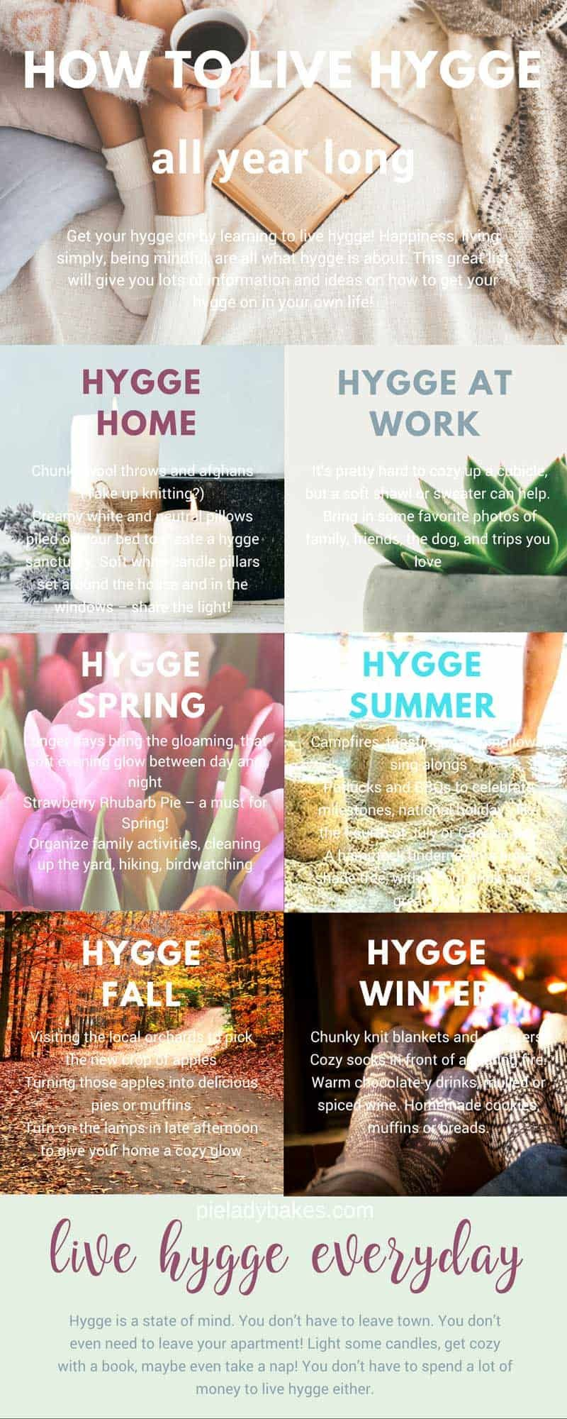 20 EASY WAYS TO BE HAPPIER WITH HYGGE Tutorial & Video   Hygge ...