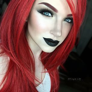 Mykie Glam And Gore Google Search Makeup Amp Hair