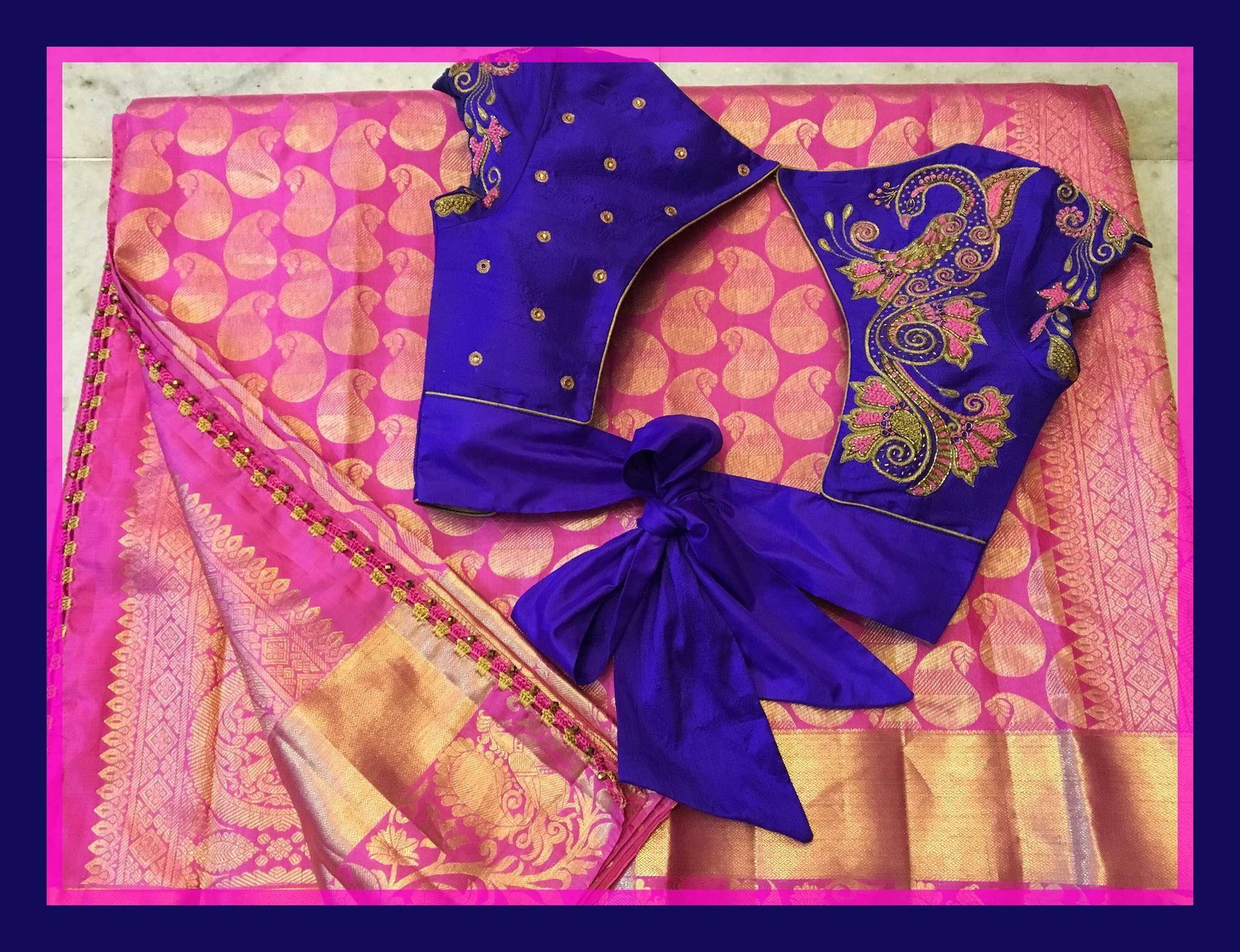 Pin by neethashyni neethashyni on saree pinterest blouse designs