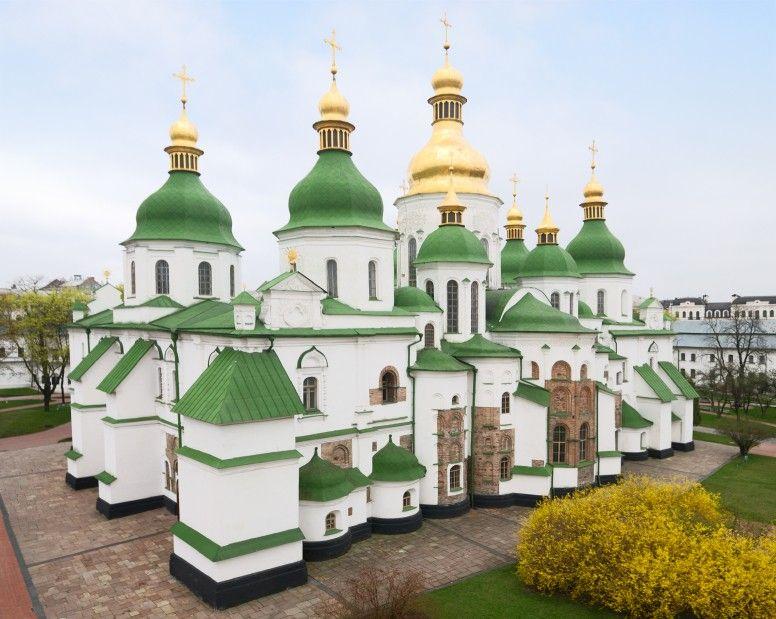 Cathédrale Sainte Sophie à Kiev