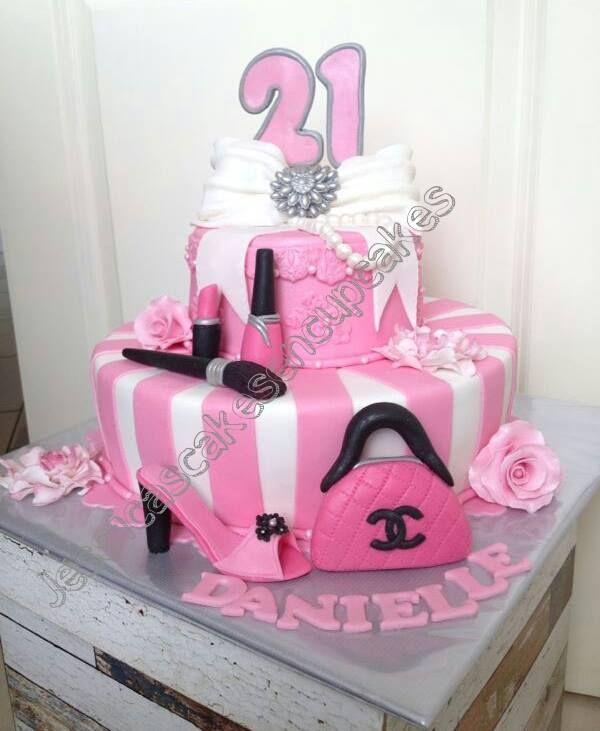 Pink Diva Cake Jessicascakescupcakes creations Pinterest Diva