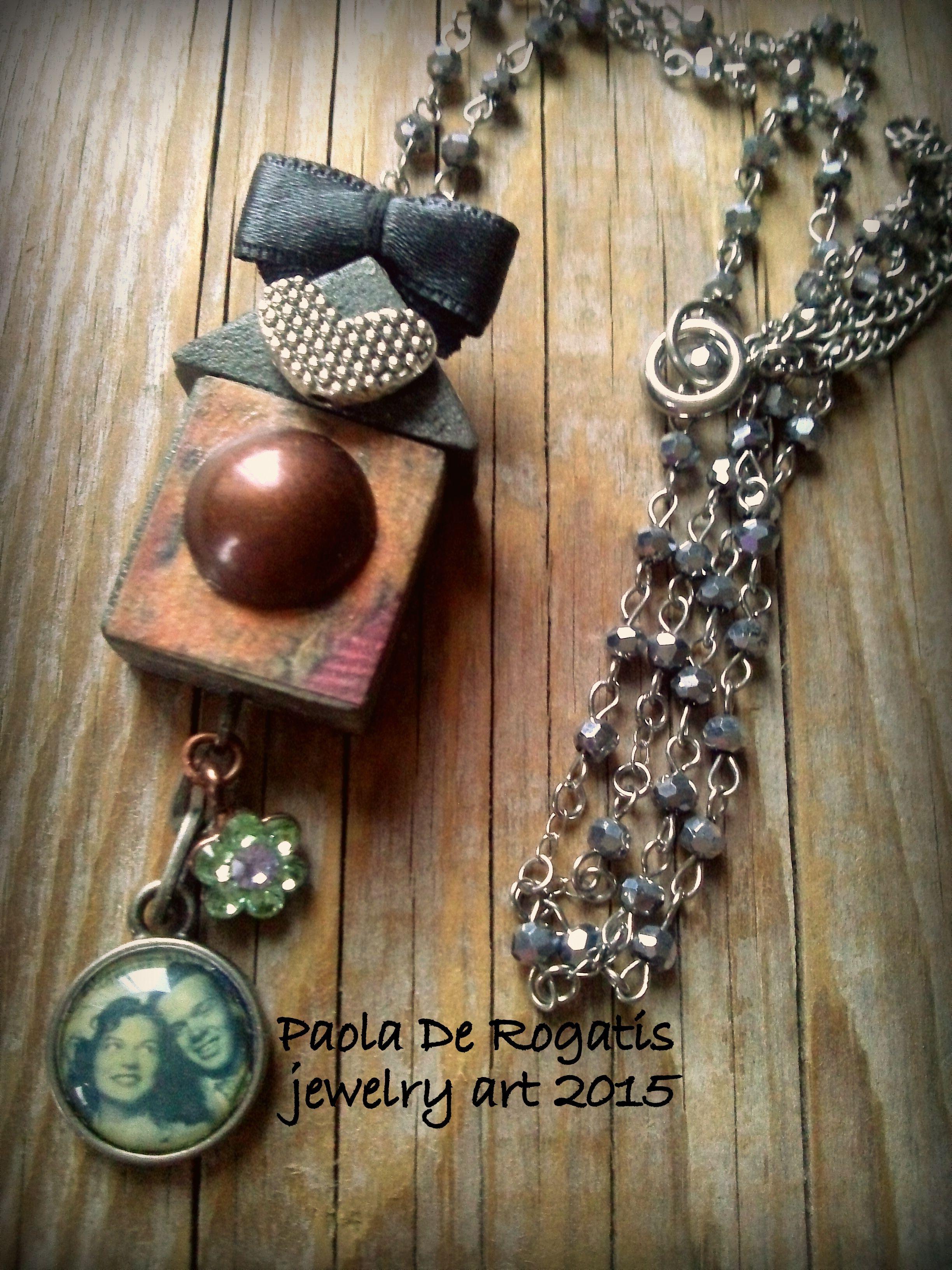 Casetta gioiello> catena con piccoli swarosky argento