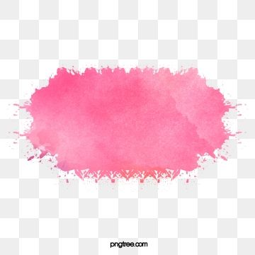 Pink Watercolor Effect Png And Clipart Acuarela De Color Rosa Acuarela Y Tinta Hojas De Acuarela