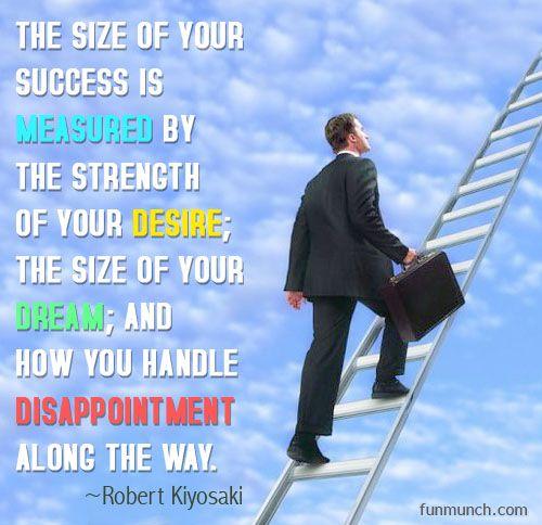How Do You Measure Success Quotes: Success By Robert Kiyosaki