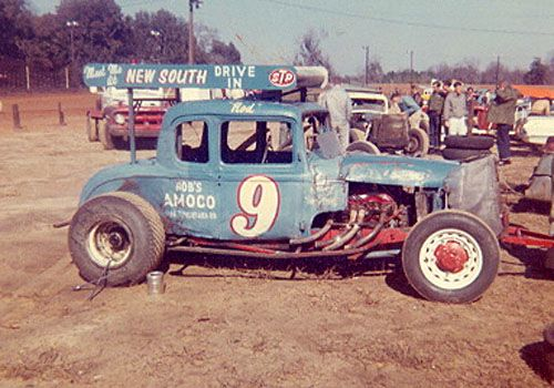 Rod Eulenfeld 1962 At Jacksonville Speedway Walt Wimer Photo