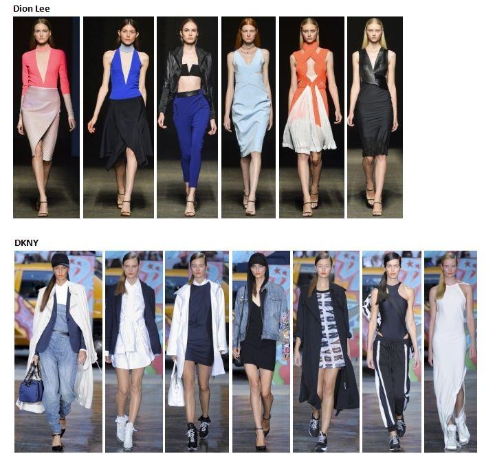 My favourite styles of Spring Summer 2014 COLLECTION apparel, shoes and make up by Dion Lee, DKNY ------- i miei preferiti della COLLEZIONE moda Primavera Estate 2014 abbigliamento scarpe accessori e trucco
