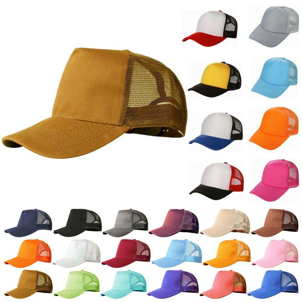 Unisex Classic Cowboy Hats One Size Sports Gym Baseball Cap Snapback Hat