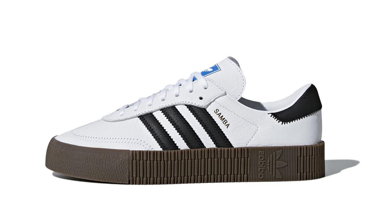innovative design f5733 cb077 Adidas Sambarose W White
