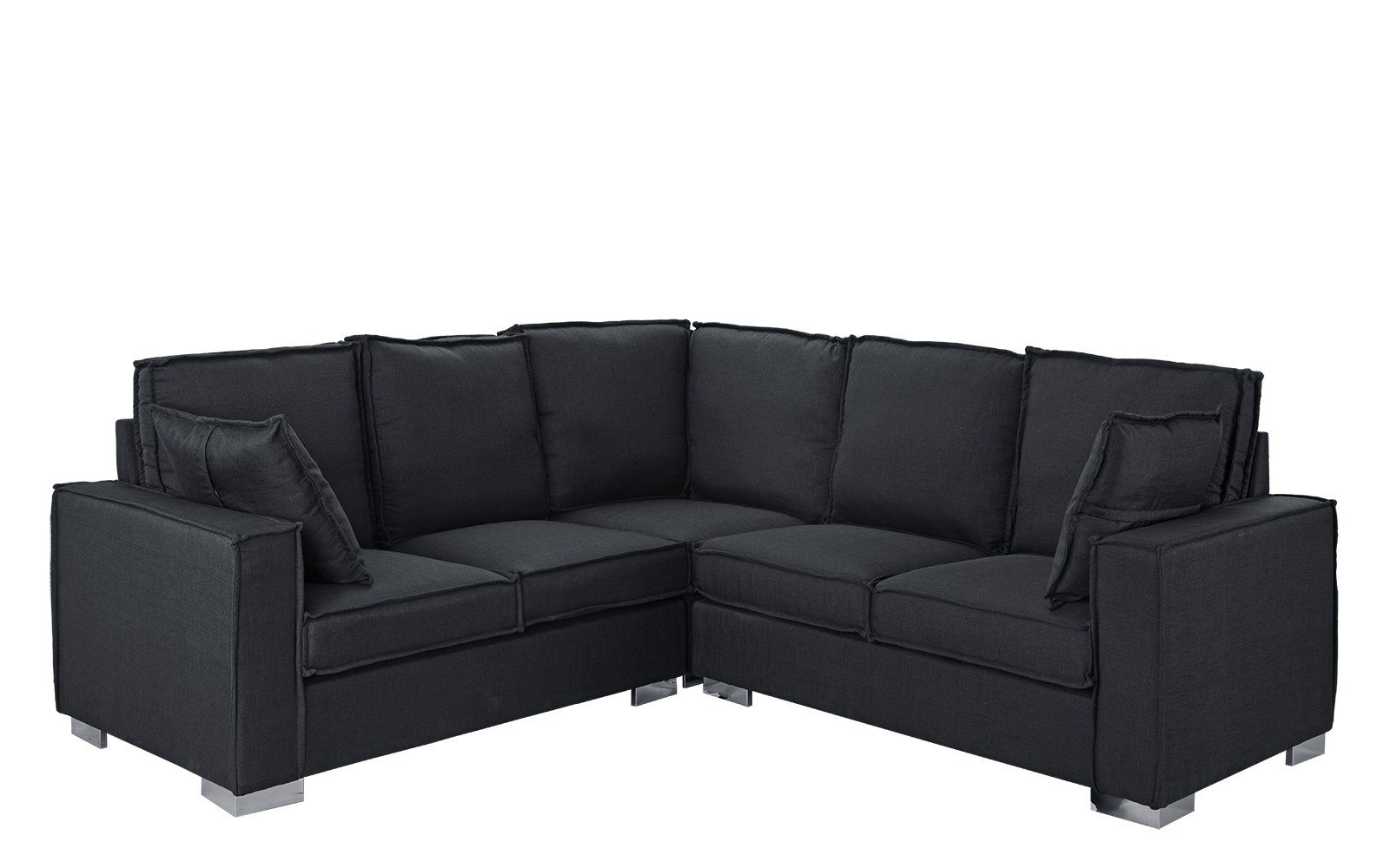 Turia Modern L-Shape Sectional Sofa | Living Rooms | Sectional sofa ...