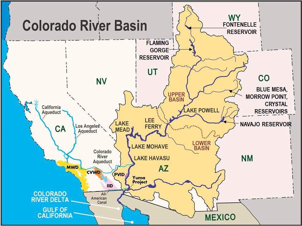 Pin By Sara Hawkins On Summer Club Colorado River Map