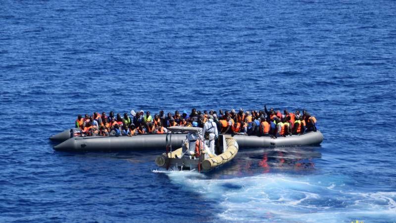 Minder bootvluchtelingen verdrinken op Middellandse Zee | NOS