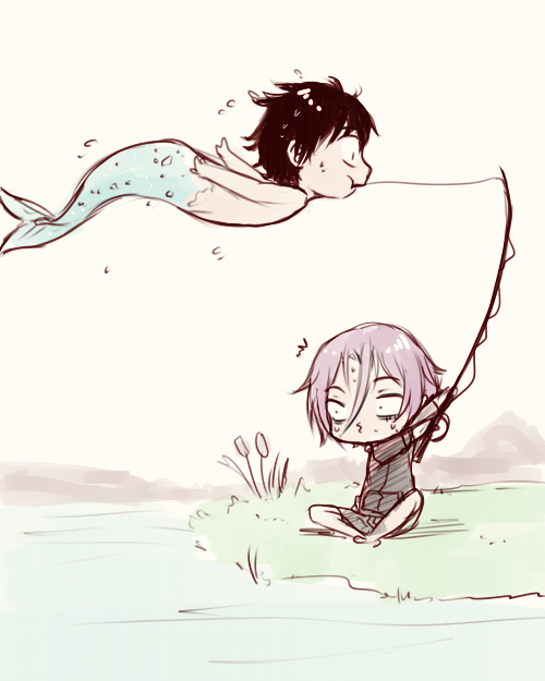 Free! - Iwatobi Swim Club, haruka nanase, haru nanase, haru, free!, iwatobi, rin matsuoka, matsuoka, rin, nanase, merman