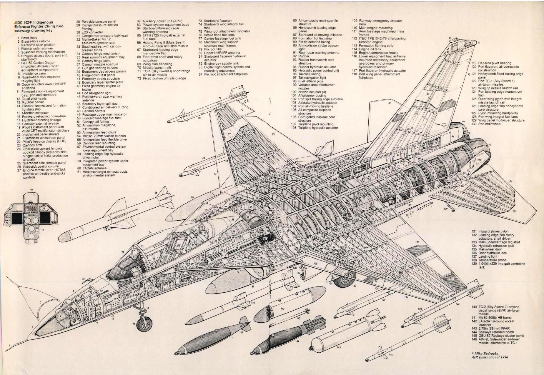 Lockheed Yf-12 Cutaway Poster Large  Aviation 24inx36in