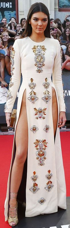 Kendall Jenner - Fausto Puglisi gown