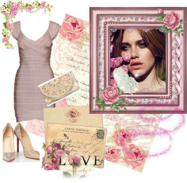 """Blush Romance"" by beeutybee on Polyvore"