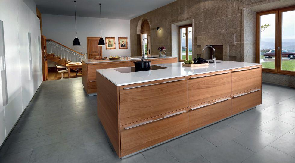 Muebles de cocina Santos en Guadalajara y Madrid. Brezo Cocina y ...