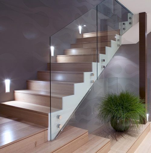 Glass Ballustrade Luxe Living Cottage Stairs Glass