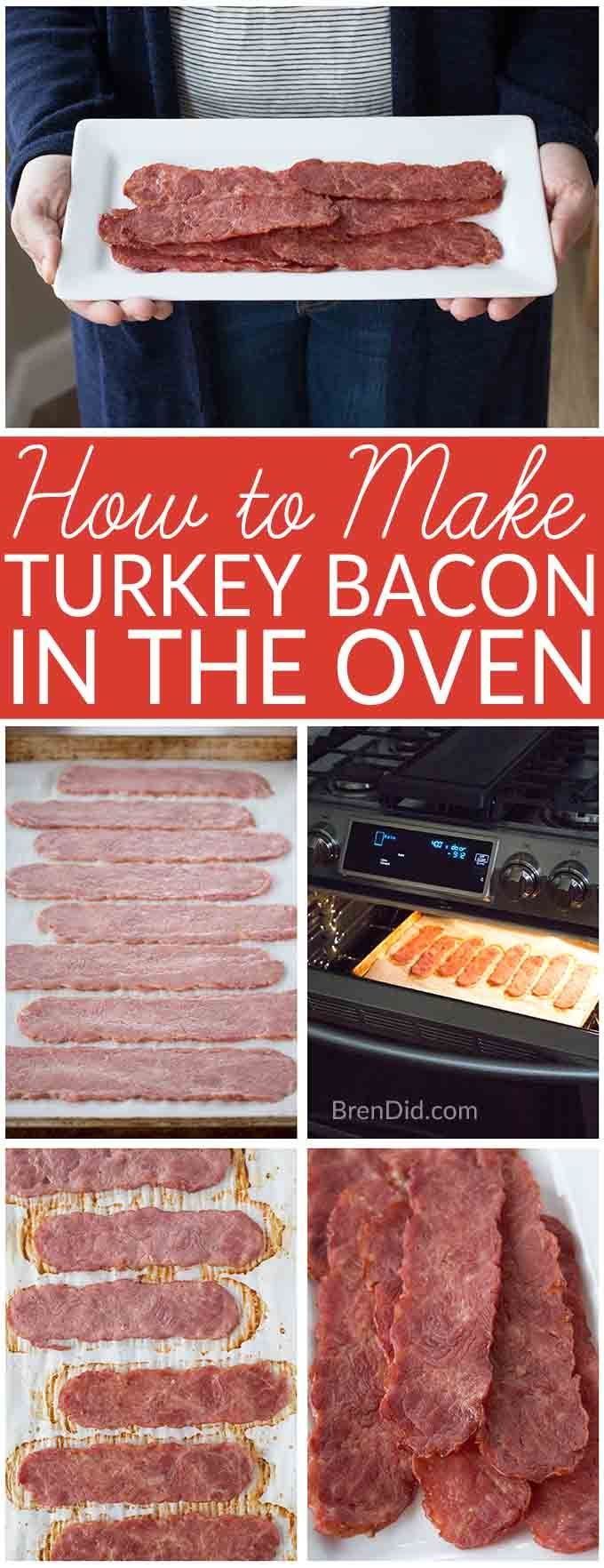 How to Make Turkey Bacon in the Oven