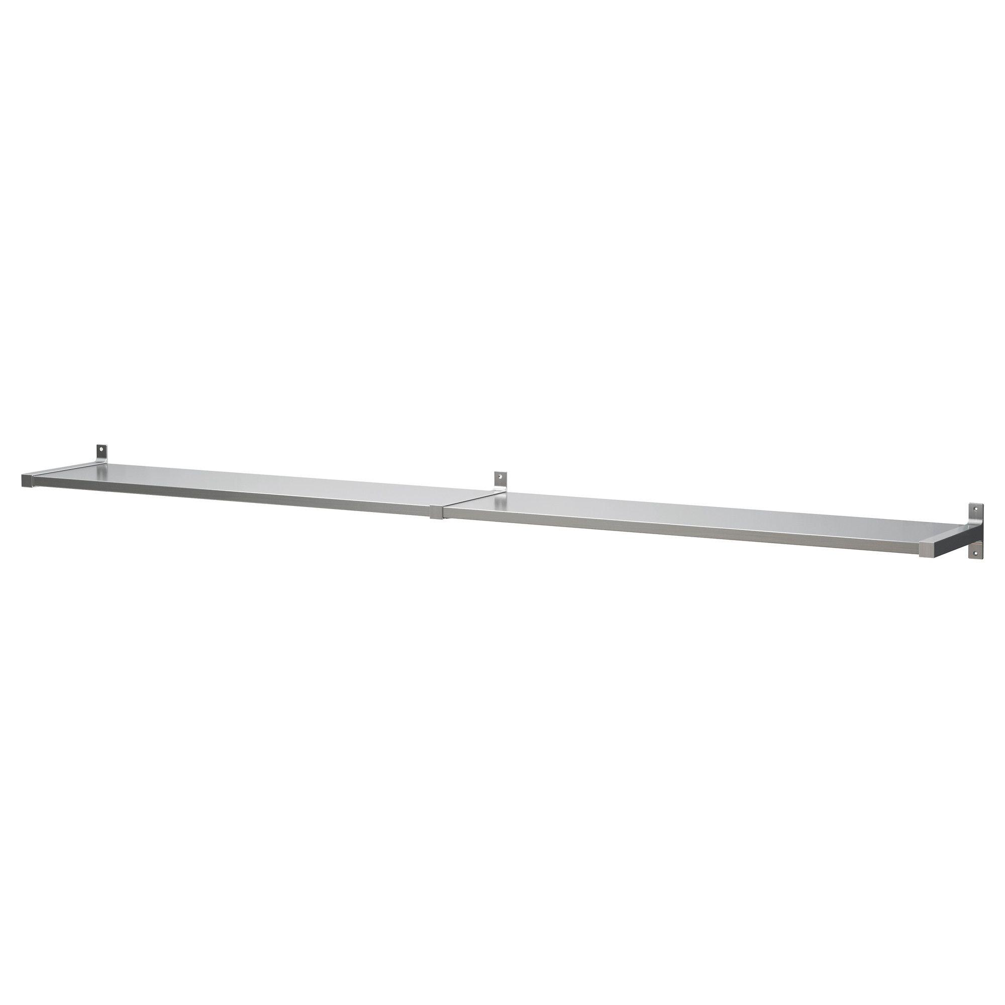 products cm on art space furniture bathroom shelf stainless grundtal ie storage en worktop wall steel saves ikea the