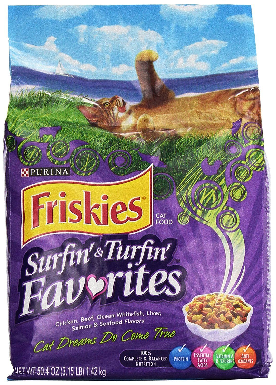 Friskies Feline Favorites Dry Cat Food 3 15 Lbs To View Further For This Item Visit The Image Link This Is An Affiliate Dry Cat Food Friskies Cat Food