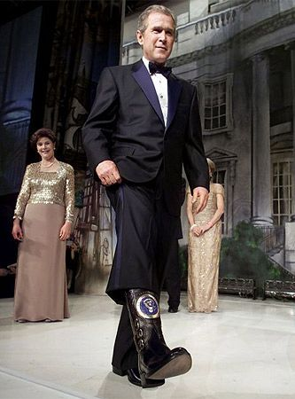 George W. Custom made Presidential boot