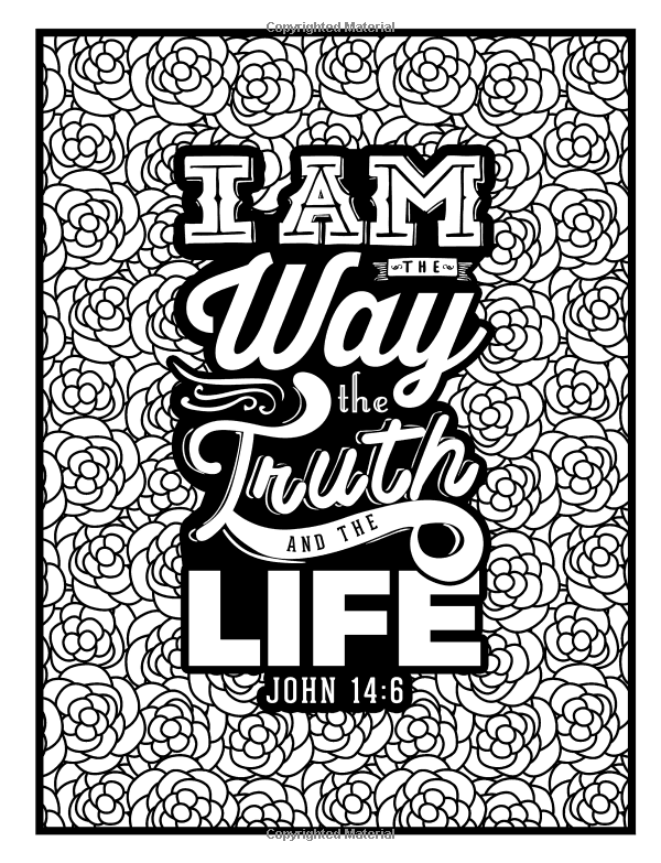 amazon com color the words of jesus a christian coloring book