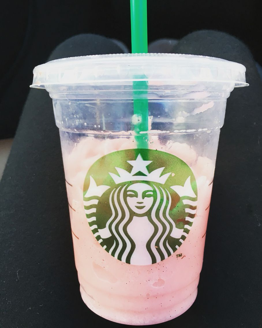 Starbucks cotton candy Frappuccino!