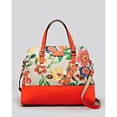 kate spade new york Satchel - Grove Court Floral Large Maise