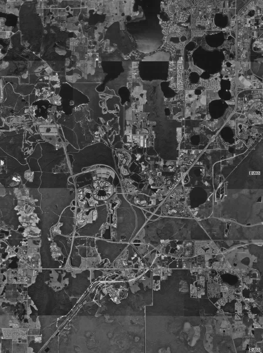 Walt Disney World Resort Property Map...Walt is smiling!   Disney ...