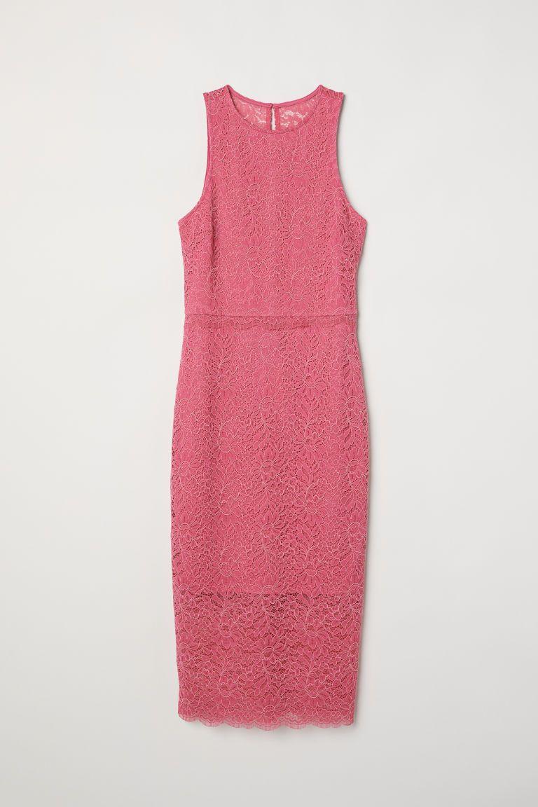 Sleeveless Lace Dress #rosaspitzenkleider