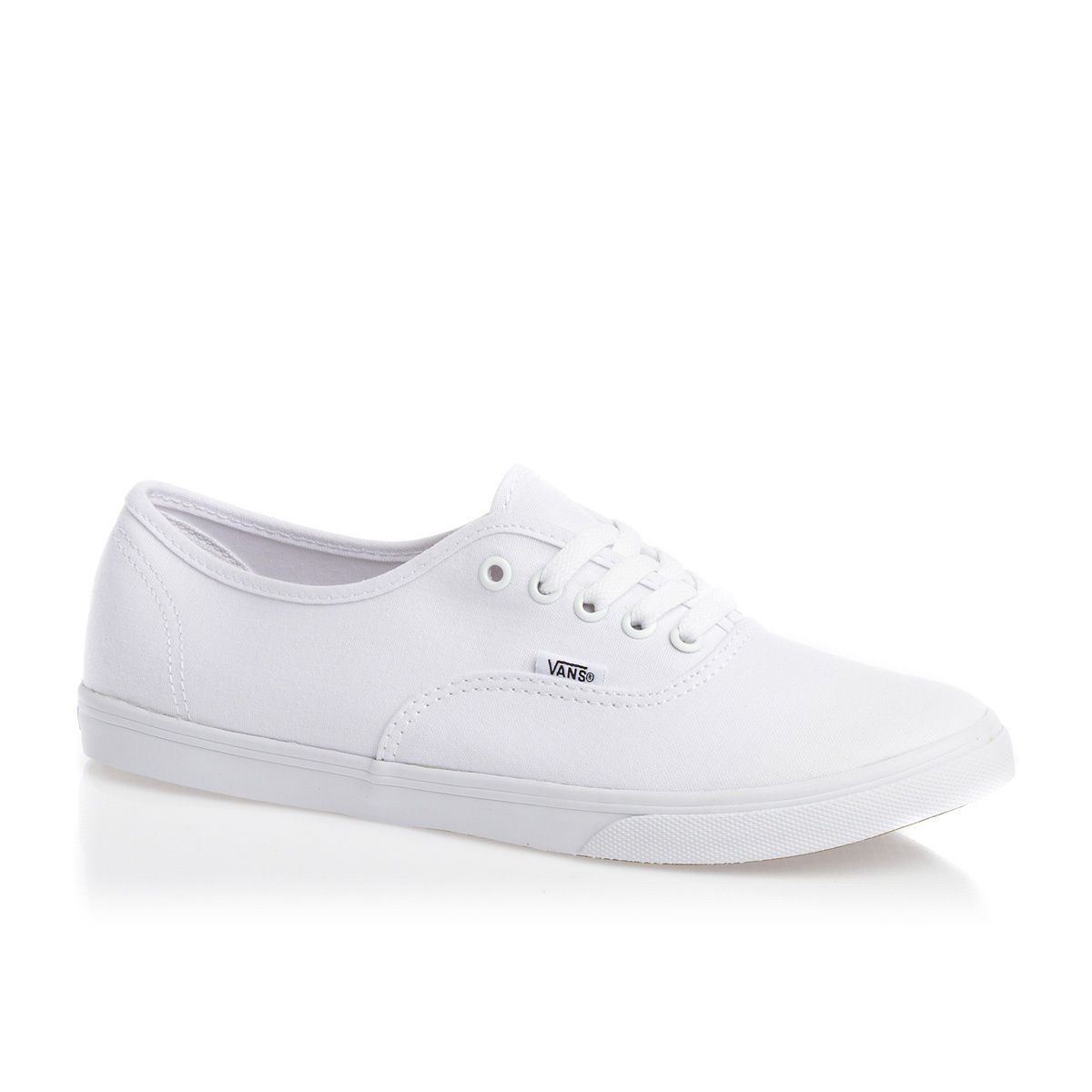 Vans Authentic Lo Pro Womens Shoes - True White | Free UK Delivery ...