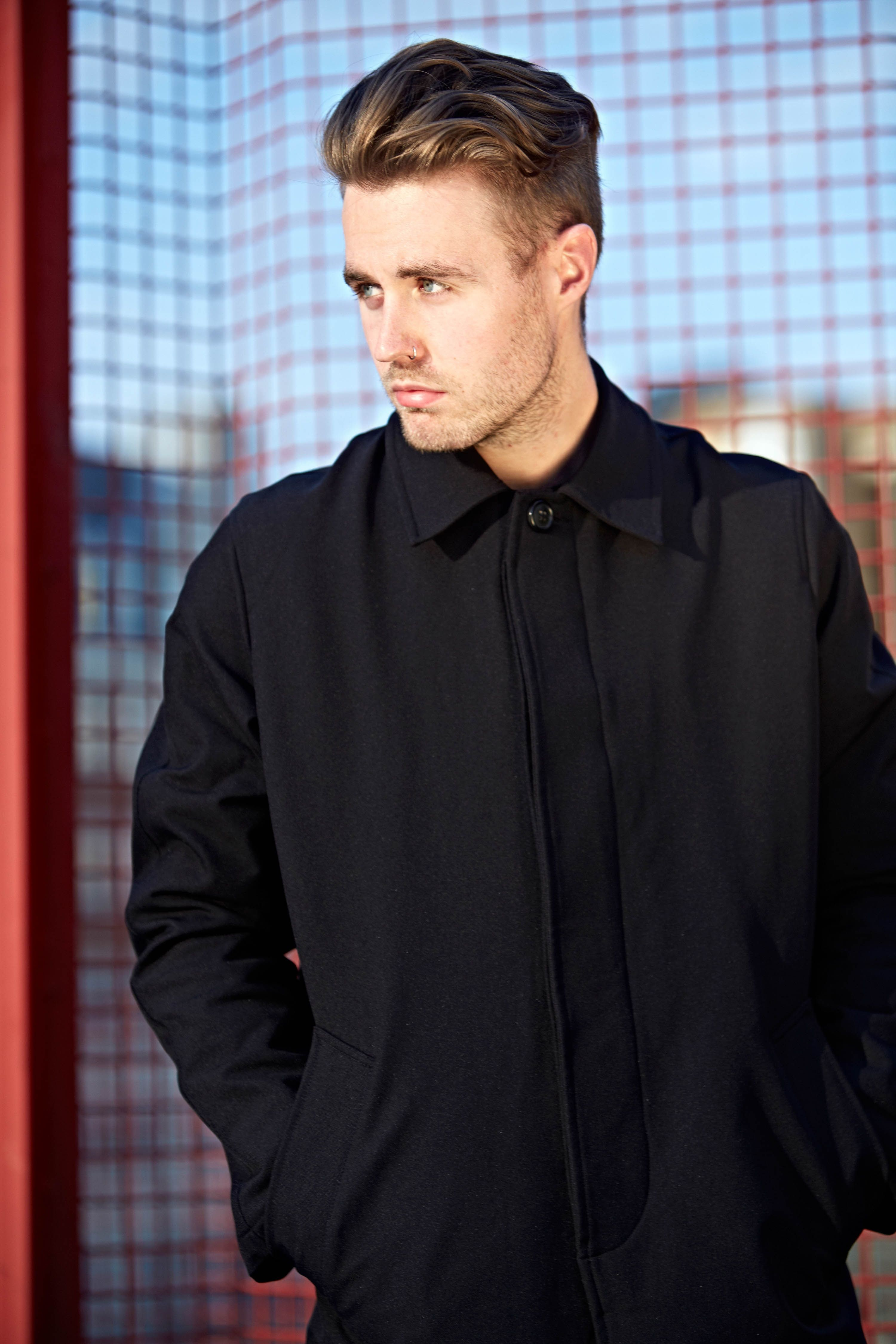A picture of me for Atoo menswear wearing Our Legacy AW13