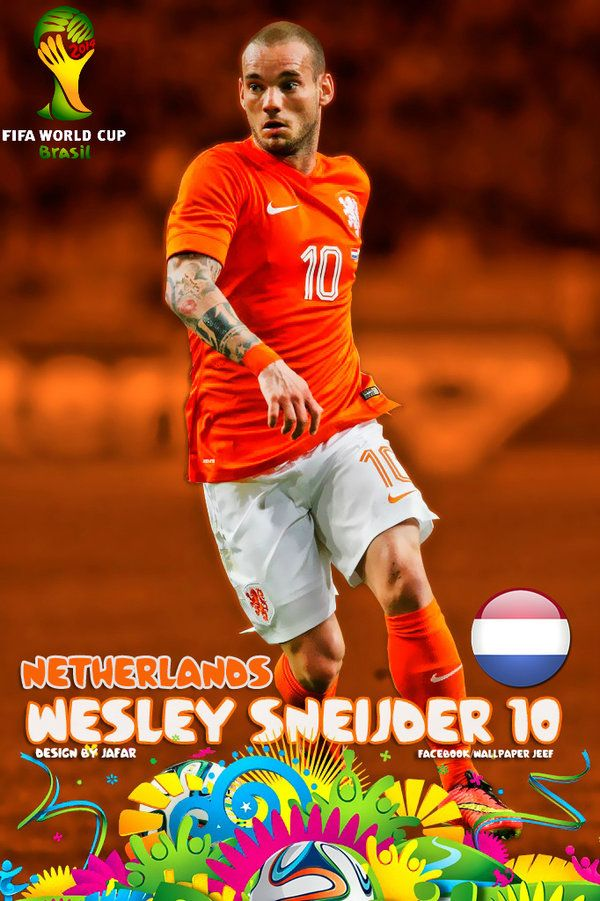 Wesley Sneijder Netherlands Wallpaper By Jafarjeef On Deviantart Netherlands Soccer World Fifa Football