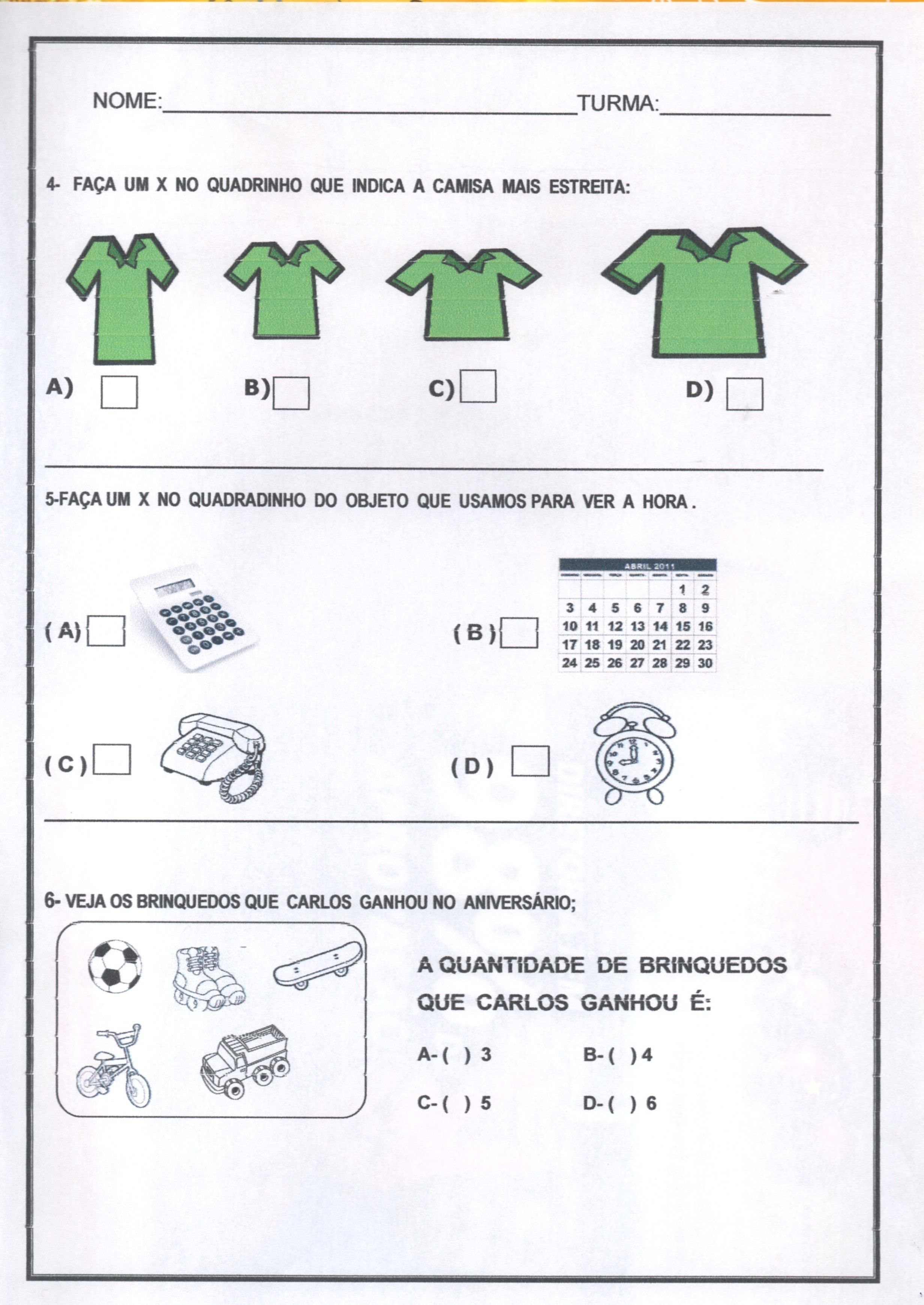 Pin Em Avaliacao Diagnostica