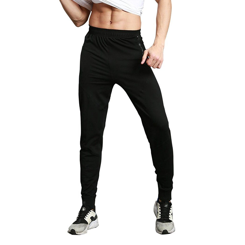 Men Drawstring Sweatpants Sports Pants Joggers Joggings Casual Trousers Bottoms