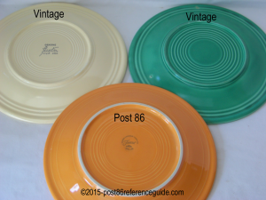 Fiesta® Dinner Plate Comparison & Fiesta® Dinner Plate Comparison | Comparison Photos | Pinterest ...