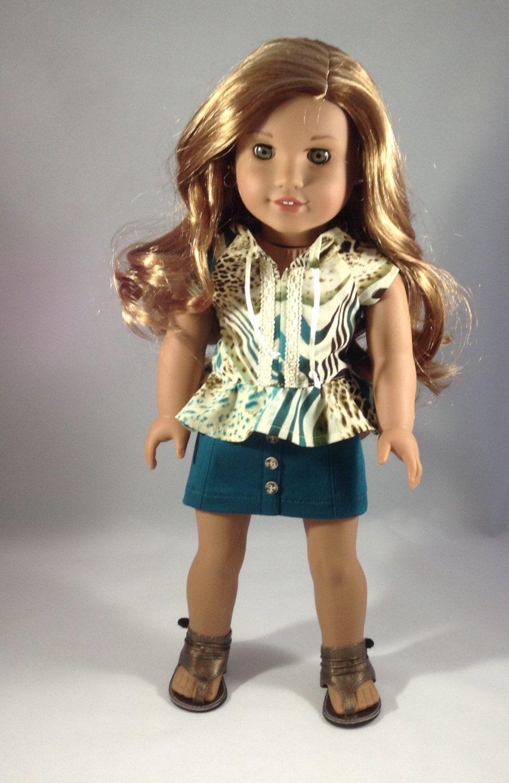 18T Sweet Doll clothes american girl, Sassy skirt, Girl
