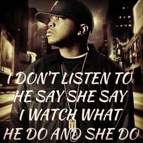 """As a BO$$ I do exactly this, watch more of what """"She do / He do"""" then feed into malicious Workplace Gossip. Action speaks louder than words! Reigns superior ;)"""