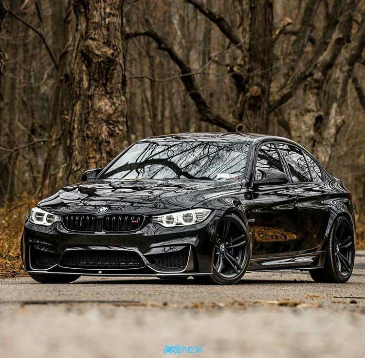 Bmw F80 M3 Black Bmw Cars Bmw Bmw 4