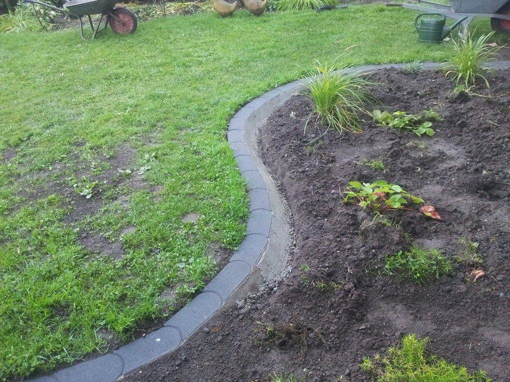 Rasenkantensteine leicht und einfach verlegen ...