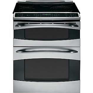 ge profile double oven maybe rip out the old stove and install an oven