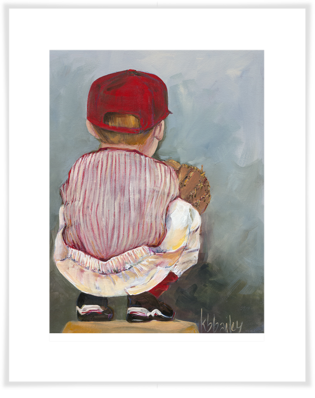 Lil' Catcher Boy, Sports Art Prints | Oopsy daisy