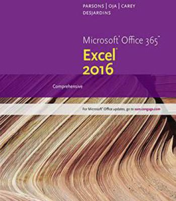 New Perspectives Microsoft Office 365 & Excel 2016 PDF