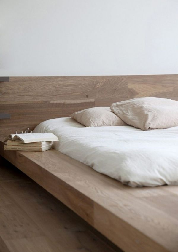 minimalist apartments with japanese interior style - Japanese Style Bed Frame