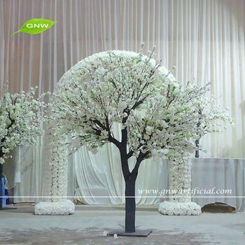 Gnw Bls1603004 Best Selling White Silk Artificial Cherry Blossom Tree For Sale Dugun Dekorasyonlari Dugun Dekorasyon