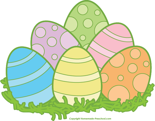 37++ Easter eggs clipart images ideas in 2021