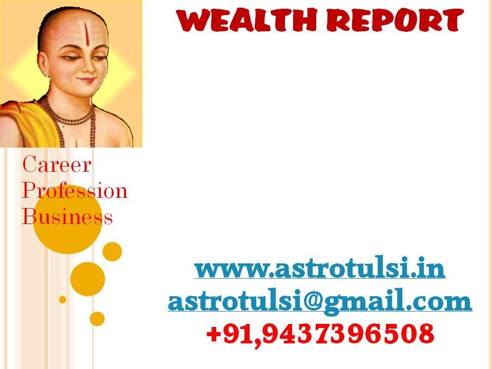 vedic astrology career report free