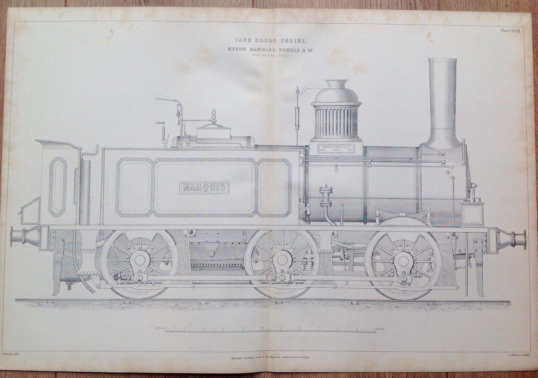 #antiques #antiqueprint #engineering #engineer #locomotive #trains #steampunk #steamengine #railways #prints