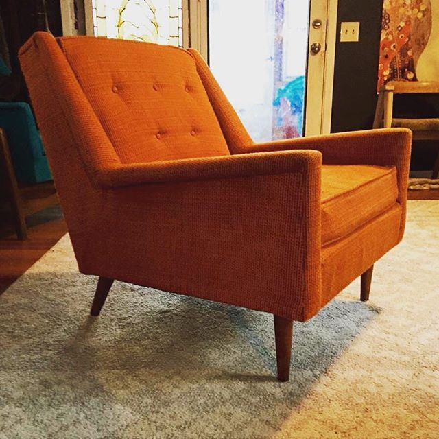Retro Her S Sized Lounge Chair Low Foot Print High Style Available Midmodmen Mcm Midcentury Midmod Stpaul Minnesota Vintage