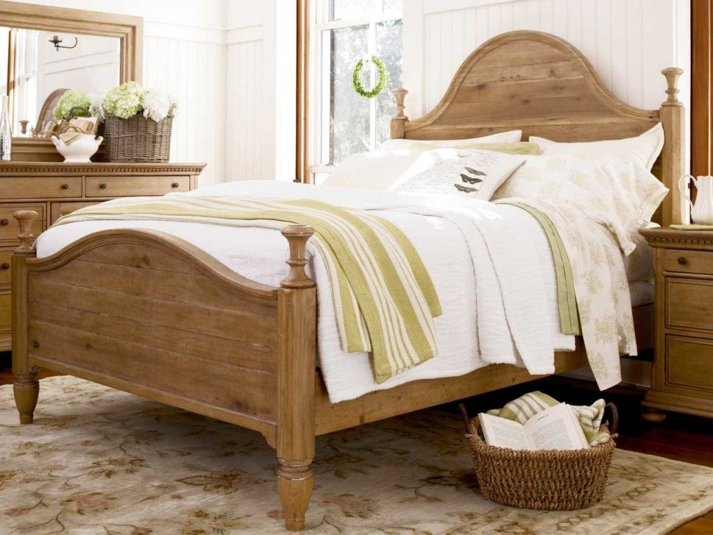 bedroom endearing image of bedroom decoration using solid light oak pine wood curved headboard - Light Oak Bedroom Furniture Decorating